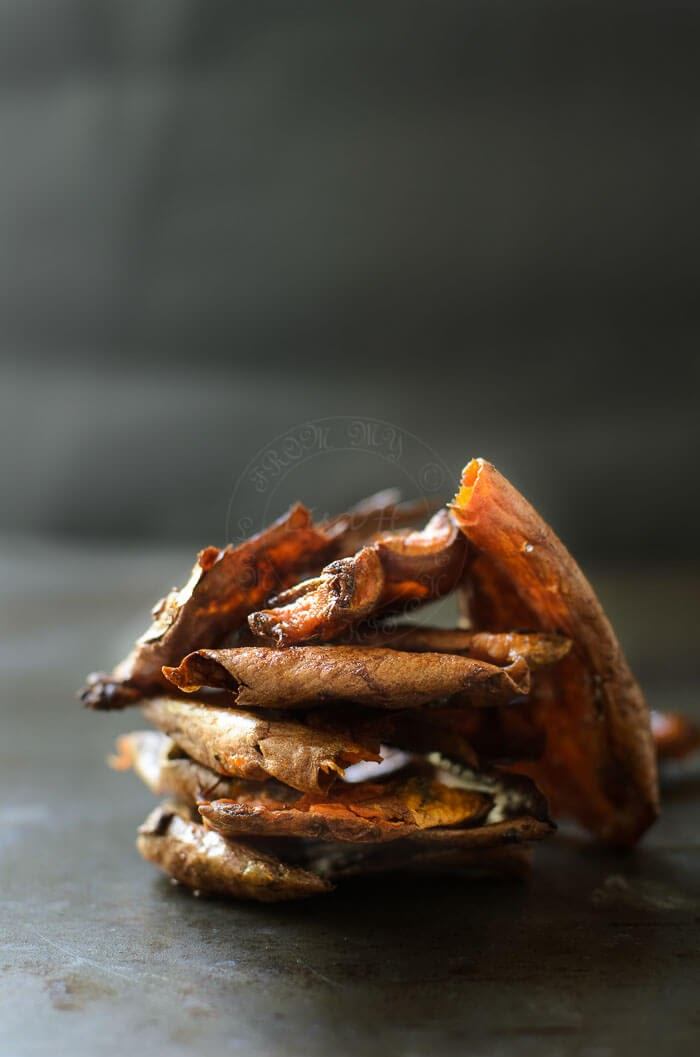 Crisps Sweet Potato Skins