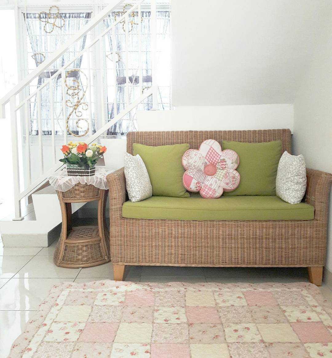 cara dekorasi ruang tamu rumah yang berukuran kecil bisa