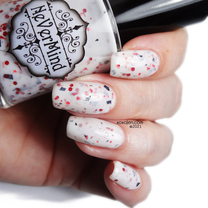 xoxoJen's swatch of Nevermind Imminent Danger