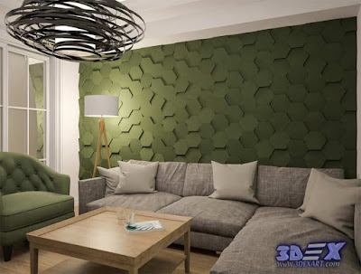 3d gypsum wall panels, 3d plaster wall panels design, wall panels for living room green walls