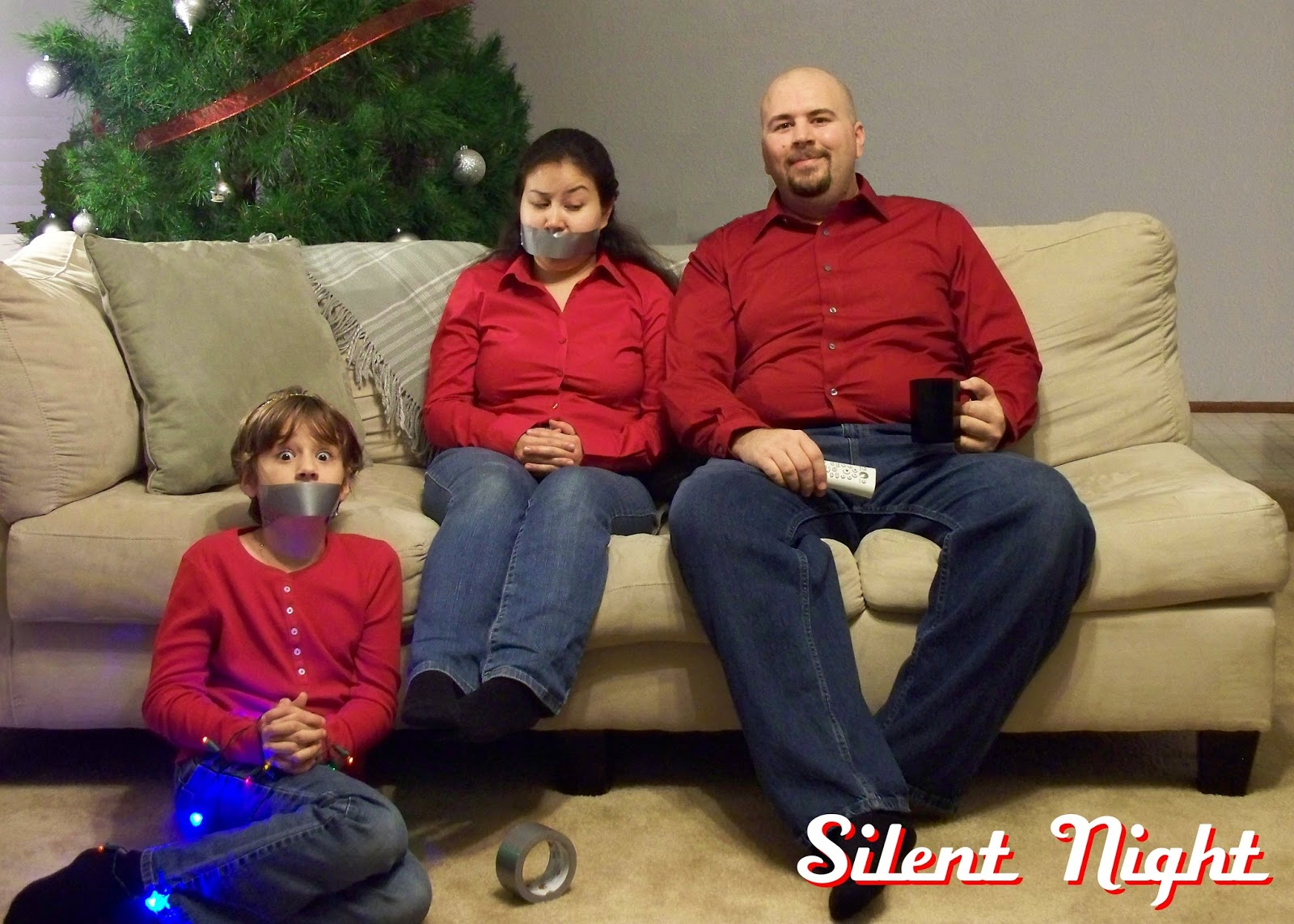 Shanafelt Christmas Cards: 2011 - Silent Night