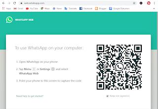 Cara menggunakan WhatsApp Web melalui Browser