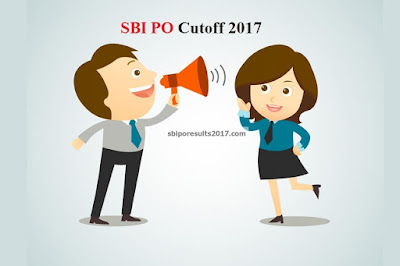 SBI PO Cutoff 2017 Marks Details and Analysis