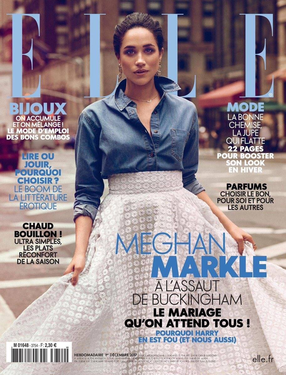 Elle France - Meghan Markle by Christian Blanchard