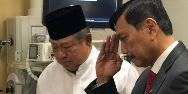 Natalius Pigai: SBY Tidak Usah Ladeni Luhut, Terlalu Kecil