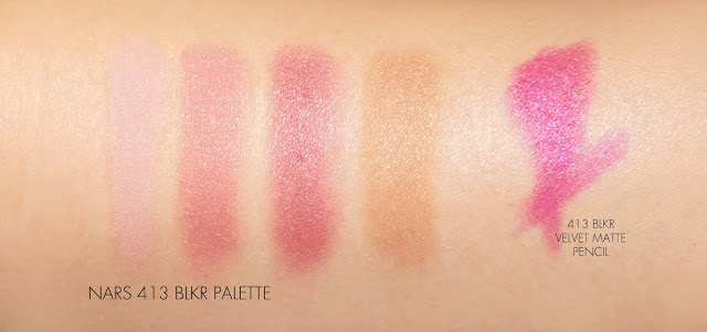 The Beauty Look Book NARS 413 BLKR Cheek and Lip Palette