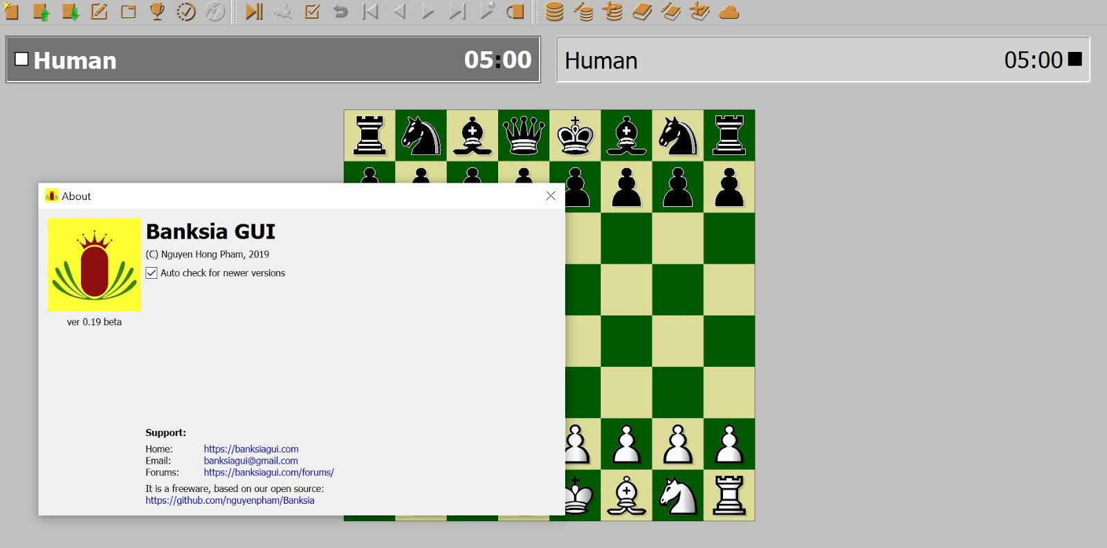 Chess game for mac