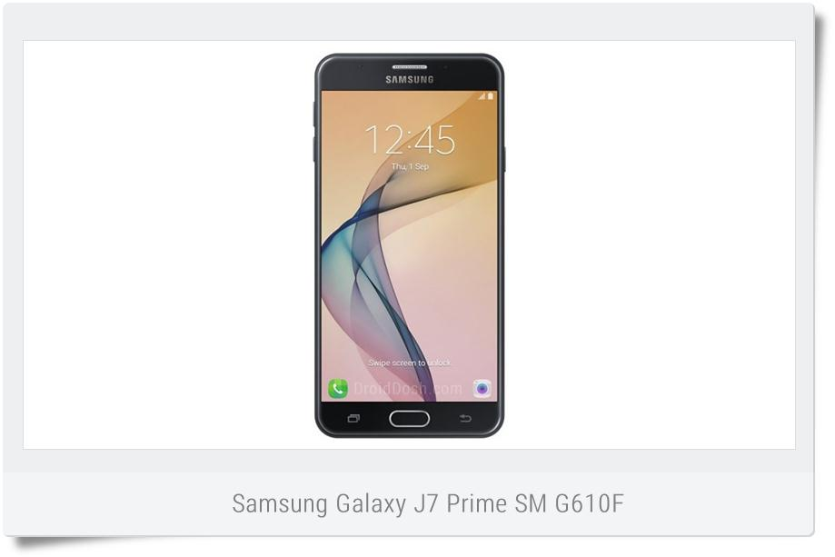 Stock Nougat Firmware for Galaxy J7 Prime SM-G610F - G610FDDU1BQHA