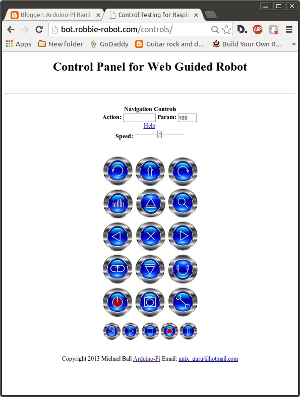 controlling a raspberry pi arduino bot from the internet part 2 of rh robotshop com Party Line Web Control Control Web Depression
