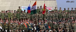 India and Russia joint military exercise continues, know everything