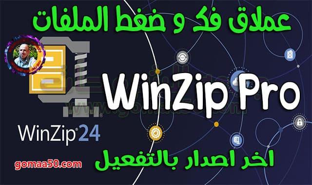 تحميل عملاق ضغط الملفات | WinZip Pro v24.0 Build 13618