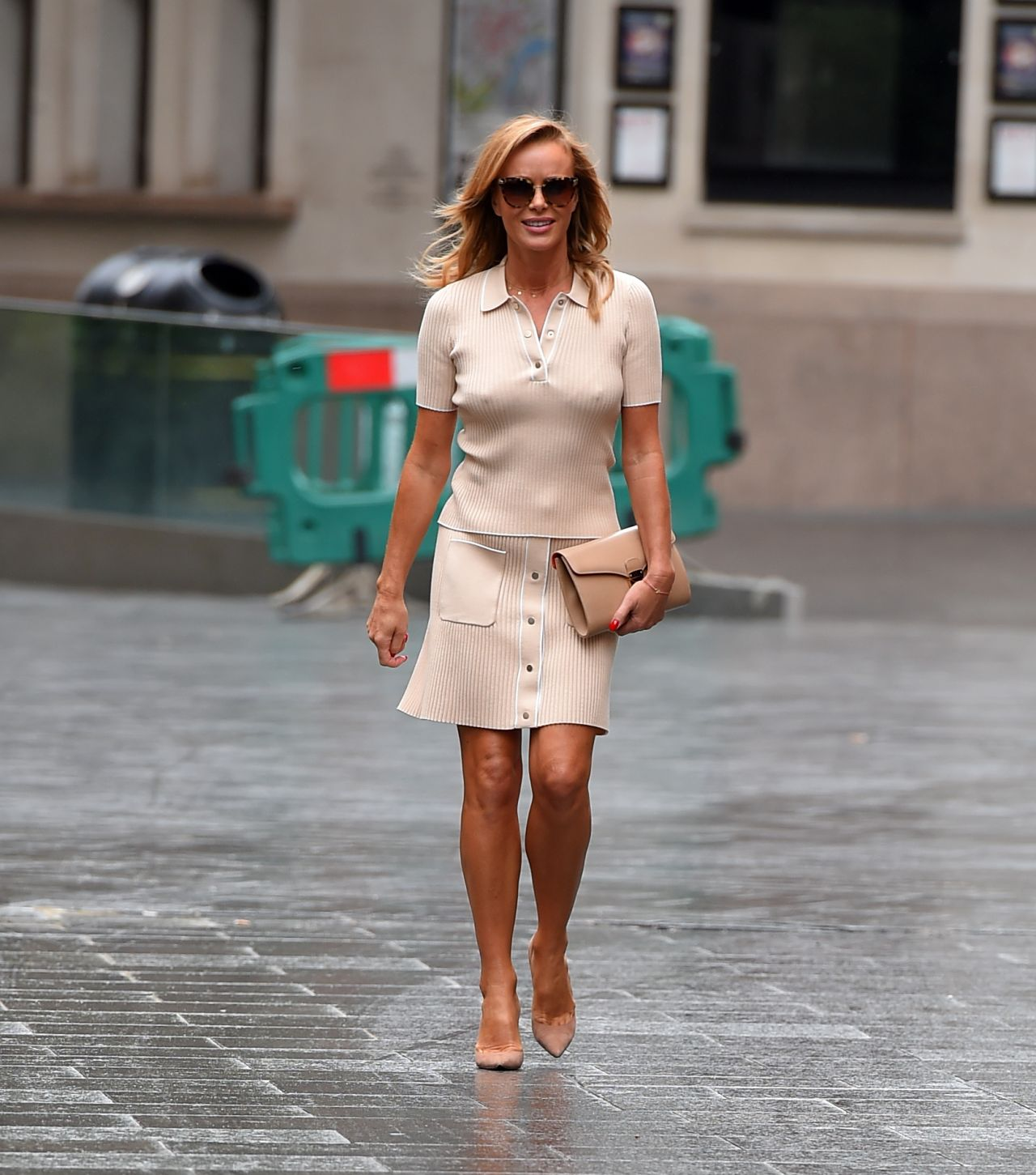 Amanda Holden – Leaving Global Radio Studios in London