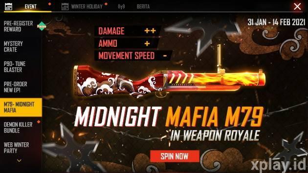 new weapon royale M79 Mafia