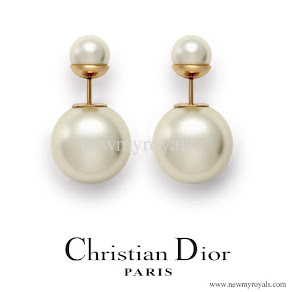Princess Charlene Jewellery DIOR Tribales Earrings