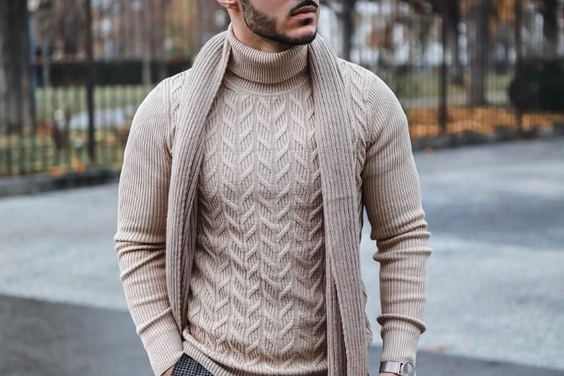 A woolen muffler image.