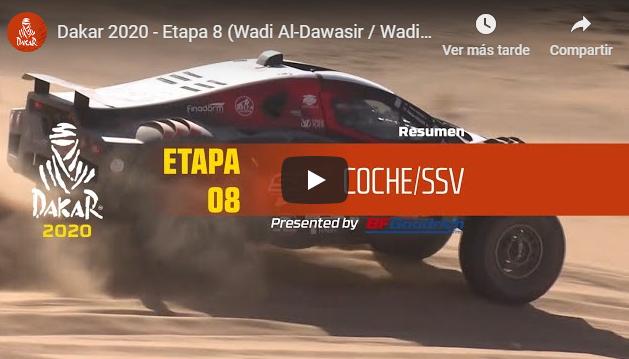 Dakar 2020: Etapa 8 - Las mejores imágenes