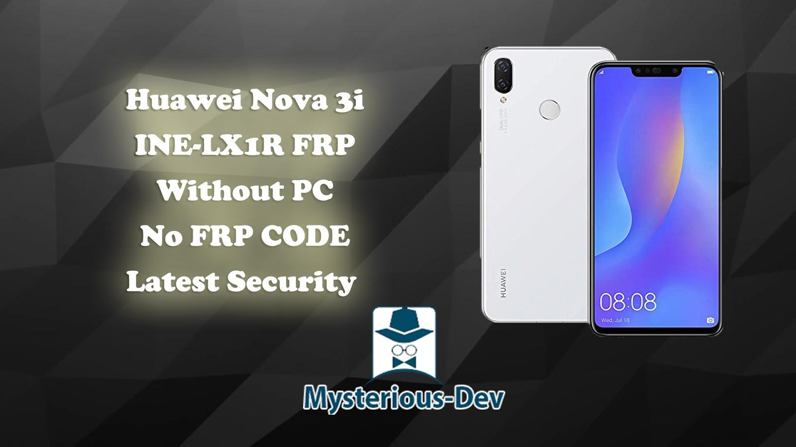 Huawei Nova 3i INE-LX1R FRP