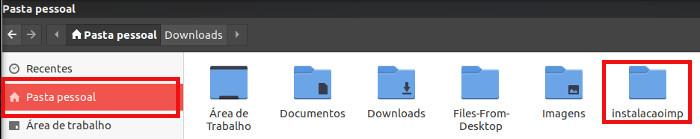 copiar pacote de instalacao da impressora samsung