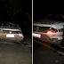 Viatura da PM de Mauriti-CE capota várias vezes e 3 policiais ficam feridos, em Brejo Santo