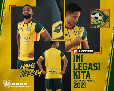 Jersi Kedah FC Home 2021