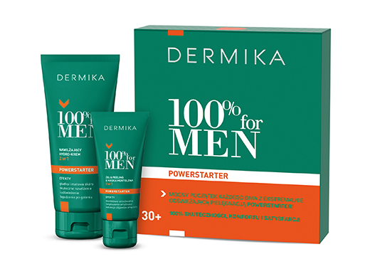 dermika 100% for men powerstarter