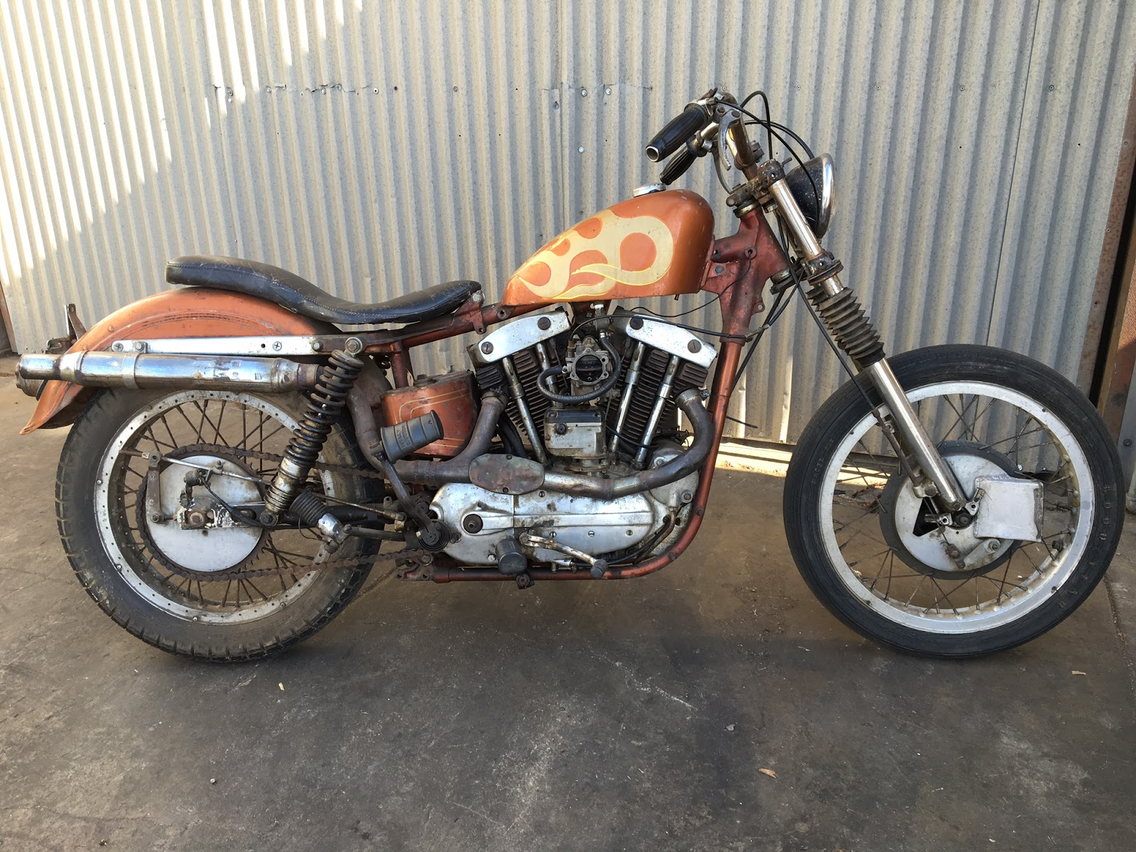 cycle zombies blog for sale 1959 harley xlh sportster. Black Bedroom Furniture Sets. Home Design Ideas