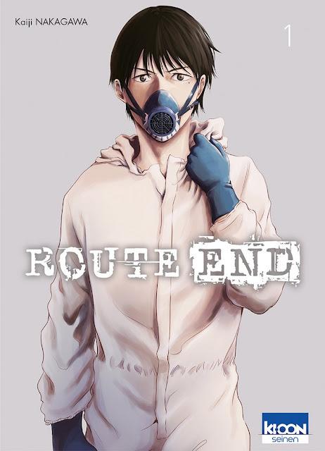 Livres Route End Manga L'Agenda Mensuel - Juin 2018