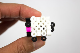 3d perler bead sheep craft- how to directions for kids