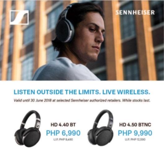 Sennheiser Announces Promo