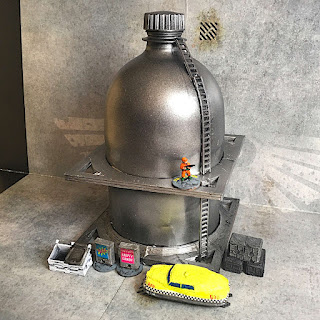 Sci-Fi Bulk Liquid Storage Tank