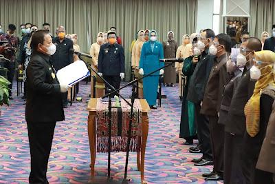 Gubernur Arinal Lantik 14 Pejabat Pimpinan Tinggi Pratama