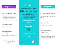 """Colegio de Periodistas y la Fundación FUAN abren convocatoria para postular al taller """"Orientaciones para hablar y escribir sobre Autismo en medios de comunicación"""""""
