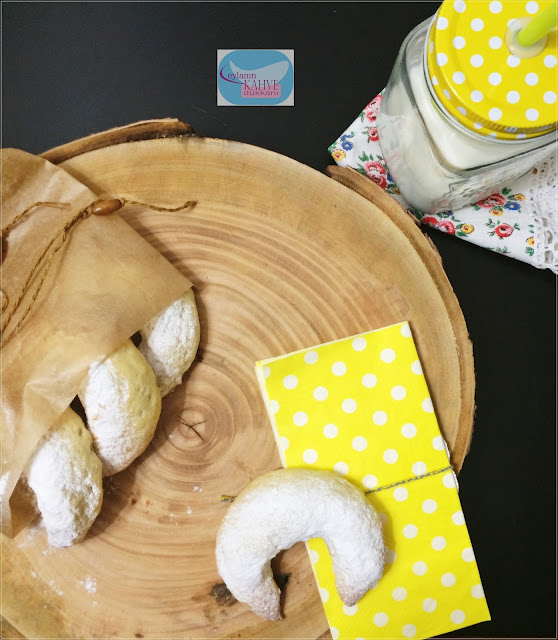 kayısılı ay kurabiye , ay kurabiye tarifi