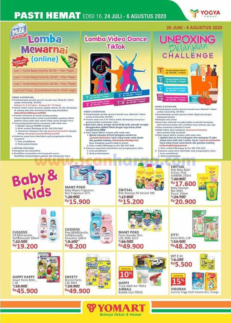 Promo Katalog Yomart Terbaru 24 Juli - 6 Agustus 2020 6
