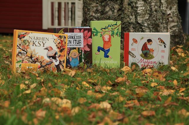 syksy kirjoja lapsille
