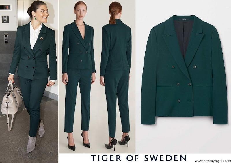 Crown Princess Victoria wore Tiger of Sweden Molena blazer