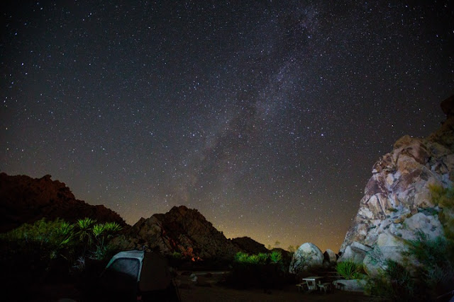 Beautiful night at Joshua Tree National Park