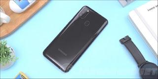 Samsung Galaxy M21 Belakang