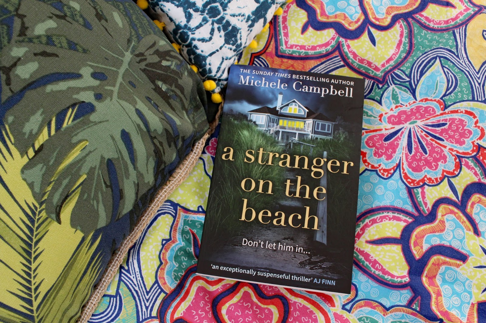 A Stranger On The Beach By Michele Campbell | Book Review