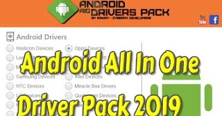 Android All In One Driver Pack 2019 100 Tested Online