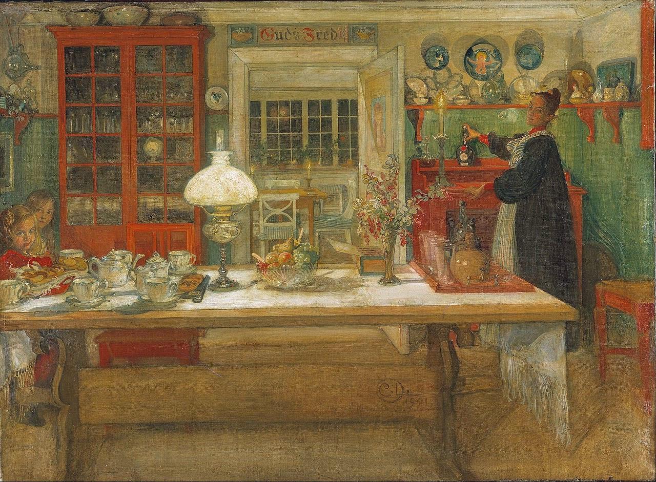 Carl Larsson Arts And Crafts