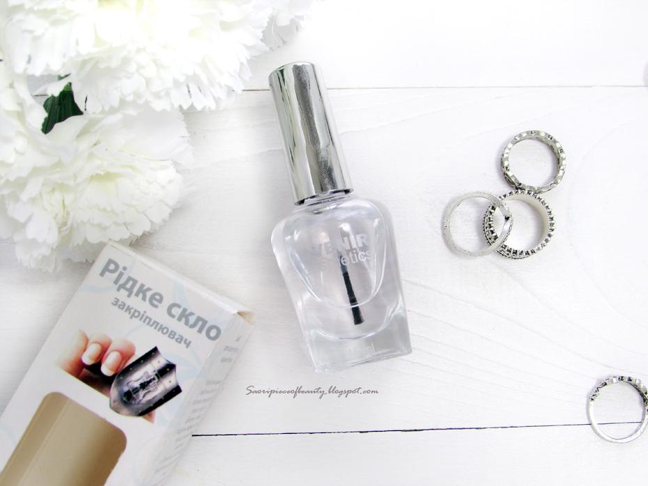 """Закрепитель лака """"Жидкое стекло"""" от Avenir / блог A piece of beauty"""
