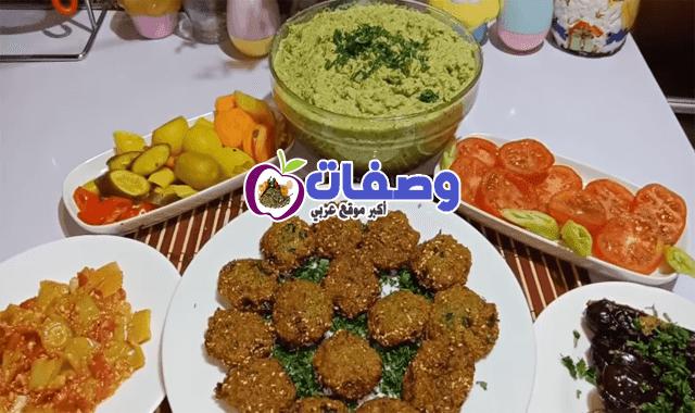 عجينة الطعمية اللذيذة فاطمه ابو حاتي