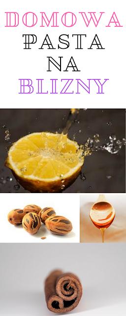 Domowe sposoby na blizny - pasta 4-składnikowa