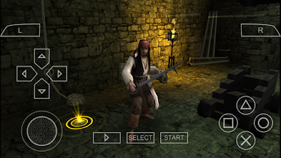 تحميل لعبة Pirates Of The Caribbean At World's لأجهزة psp ومحاكي ppsspp