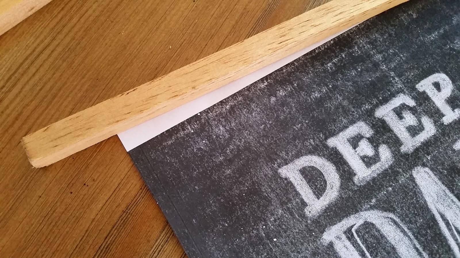 Sl Designs Diy Wood Poster Hanger