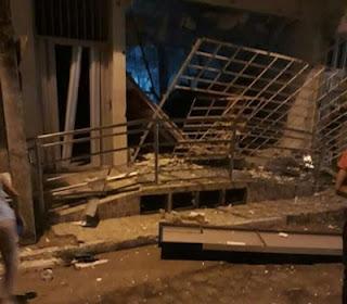 Bandidos 'tocam terror' durante explosão a banco em duas cidades da Paraíba nesta madrugada