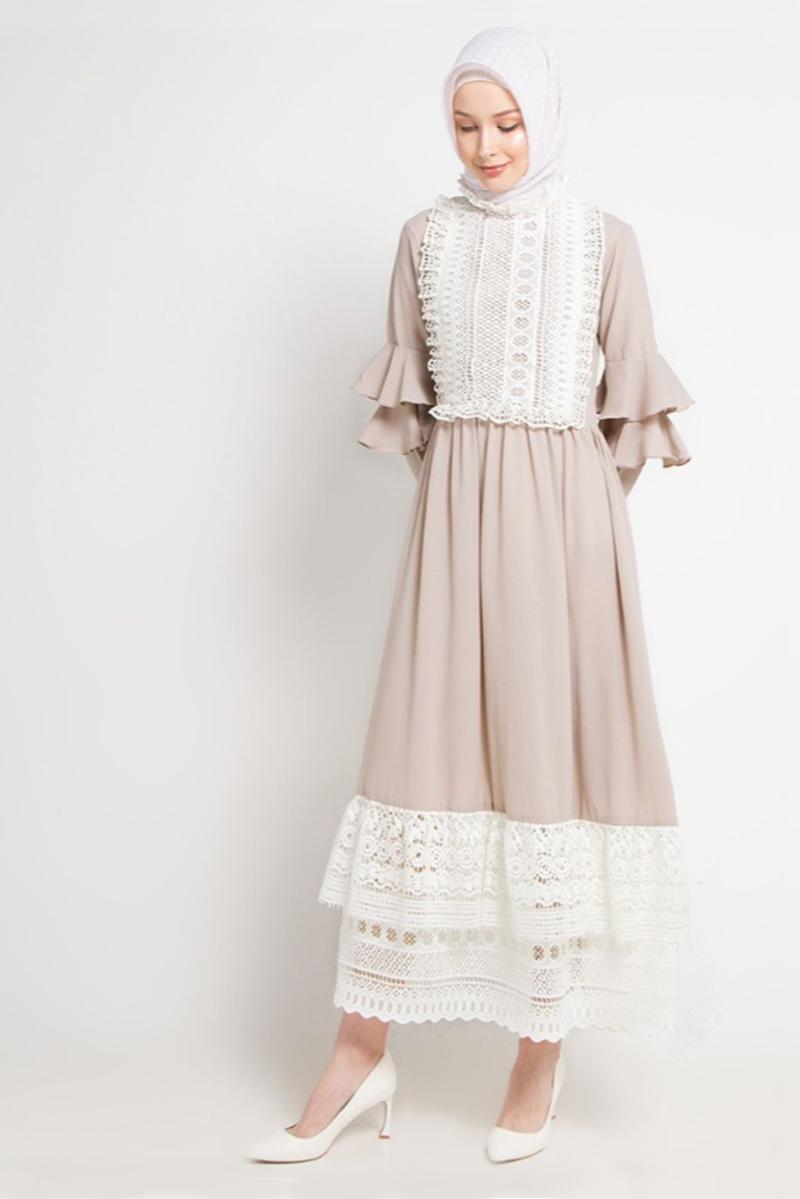 Trend Baju lebaranmanis dan keren baju dengan renda