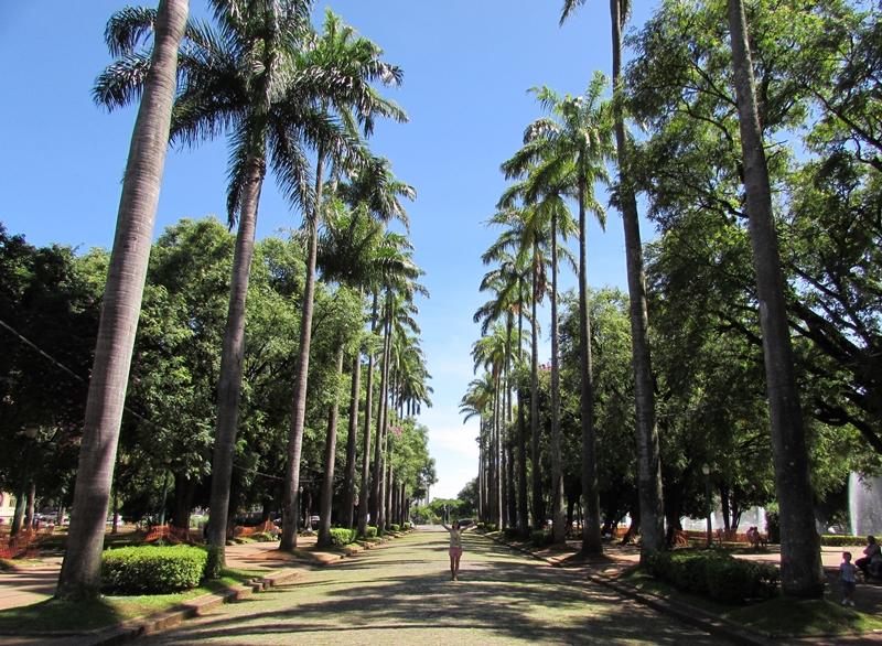 Principais pontos turísticos de belo Horizonte: Praça da Liberdade