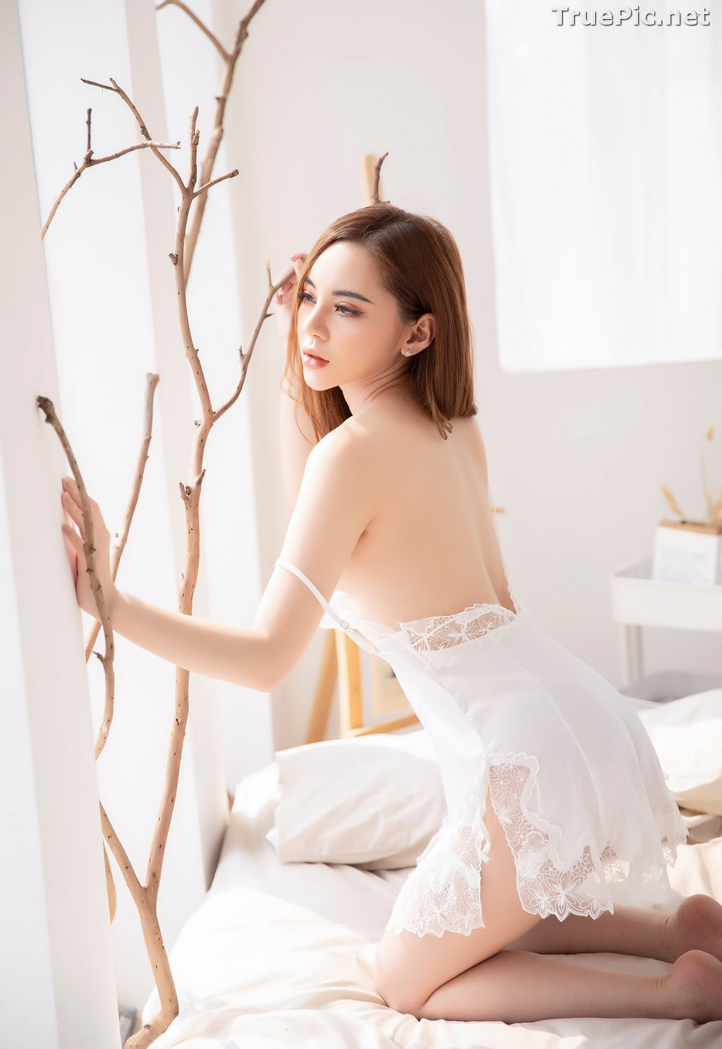 Image Vietnamese Model – Hot Beautiful Girls In White Collection #2 - TruePic.net - Picture-5
